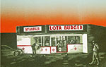 Sunset At Lota Burger